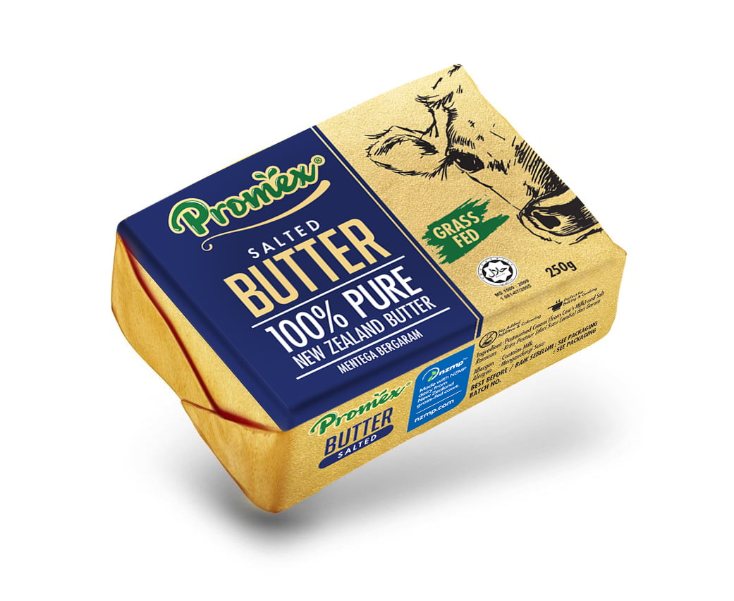 Promex Salted Butter 250gm